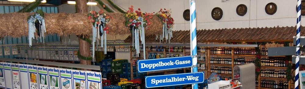 Zeltverleih Fulda | Peter Koch, Getränkefachmarkt Fulda