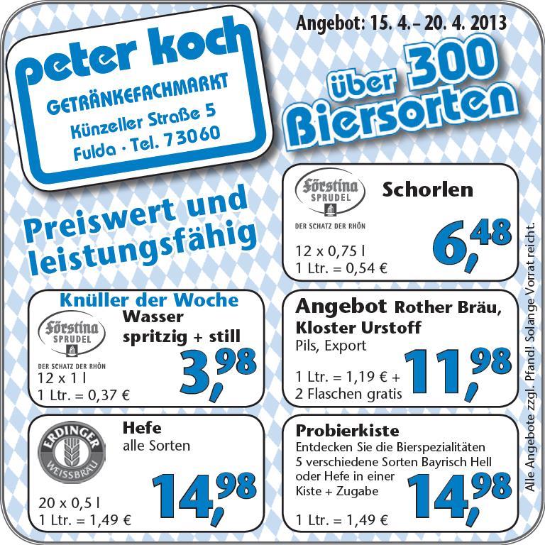 Peter Koch_Anzeige 15.04.2013