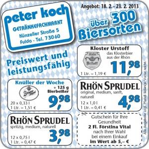 Peter Koch_Anzeige KW 8