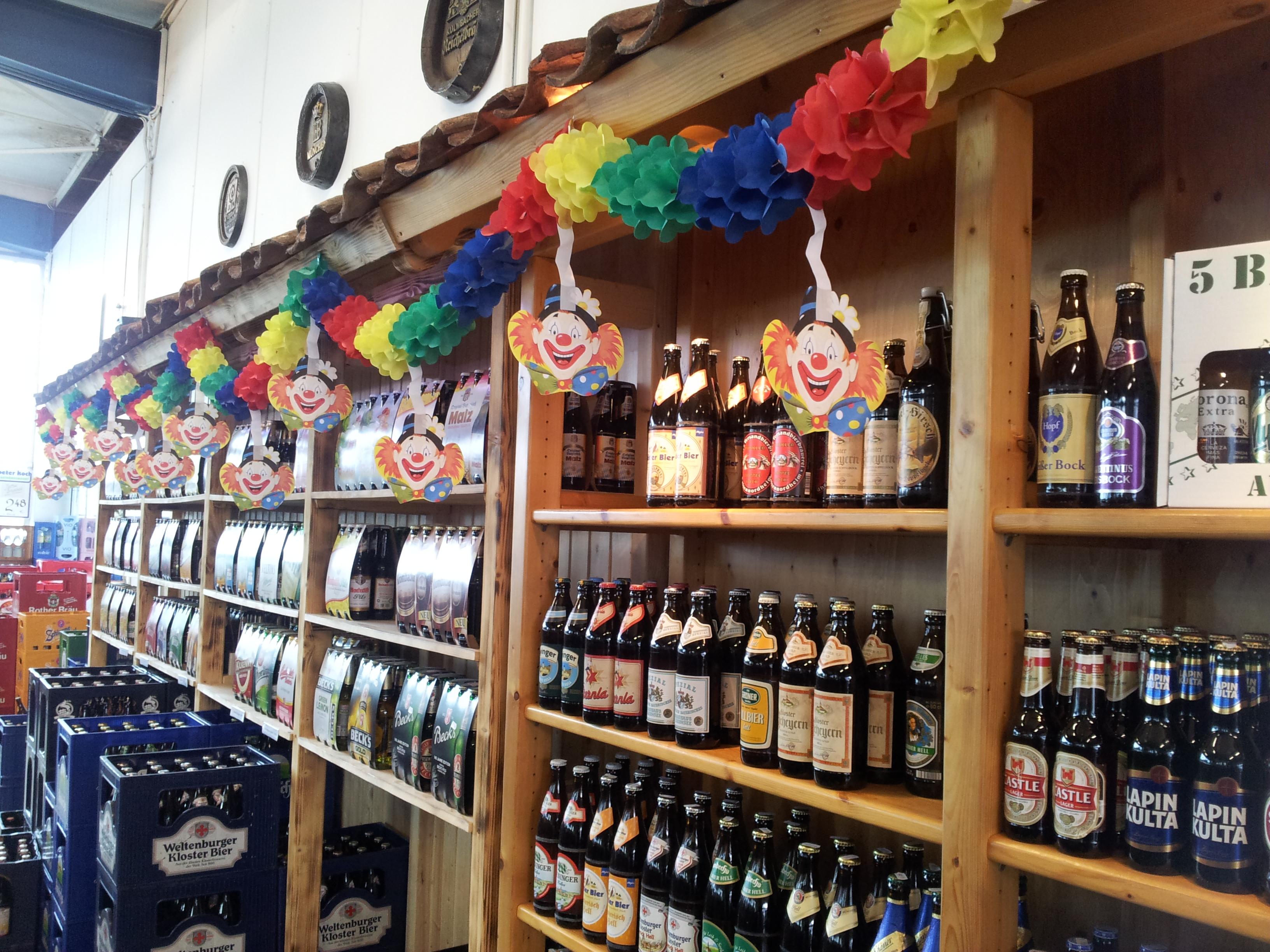 F lsch foll hinein peter koch getr nkefachmarkt fulda for Koch 300 biersorten fulda