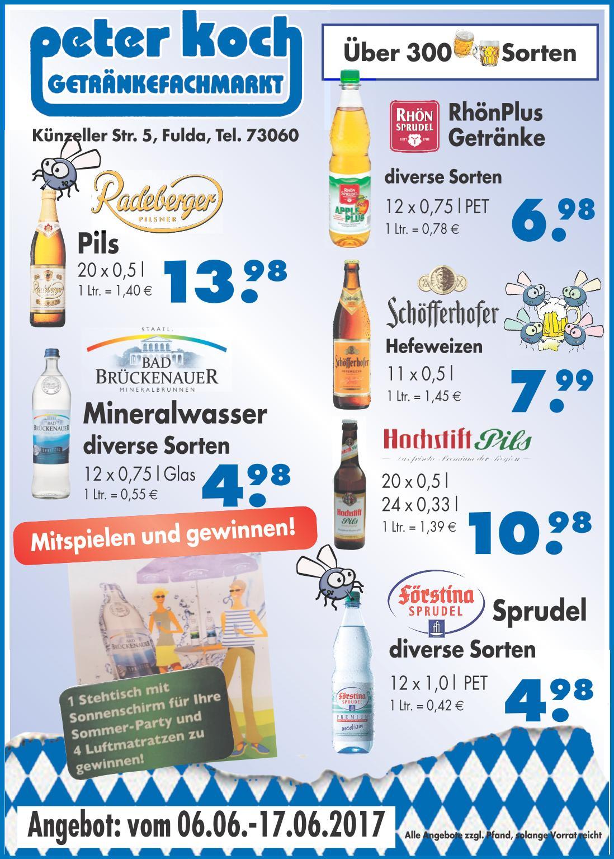 Angebote von peter koch for Koch 300 biersorten fulda